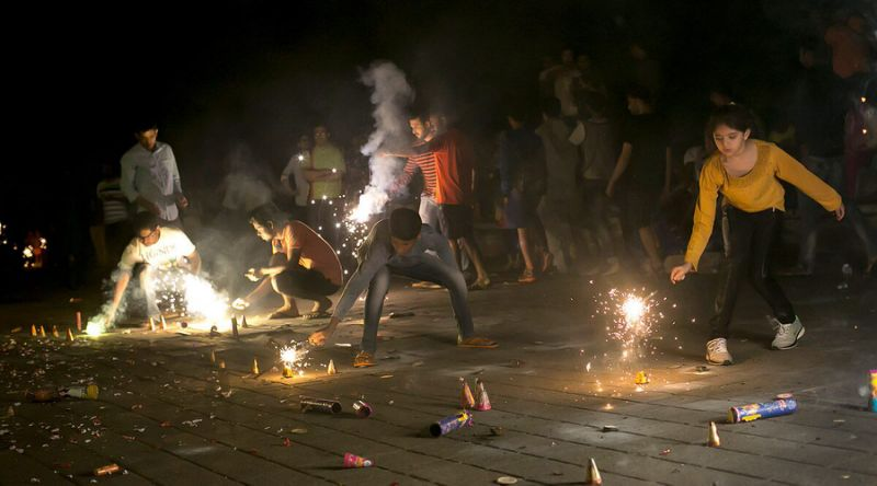 Diwali Crackers ban in Delhi Rajasthan, Bengal and other parts of India