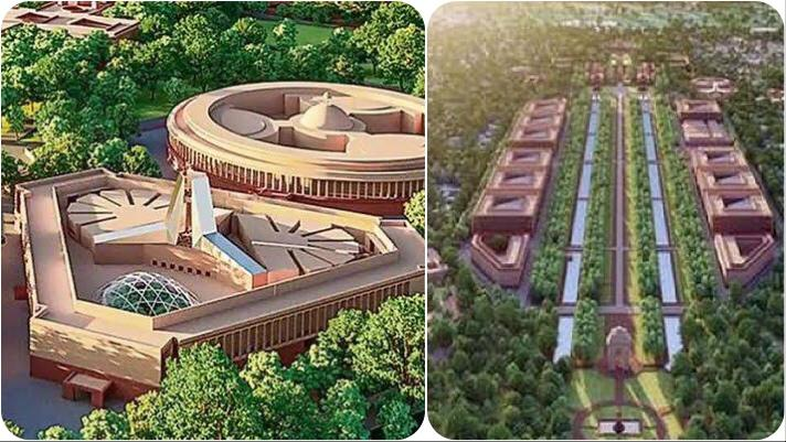 Important features of the New Parliament building inaugurated by PM Narendra Modi