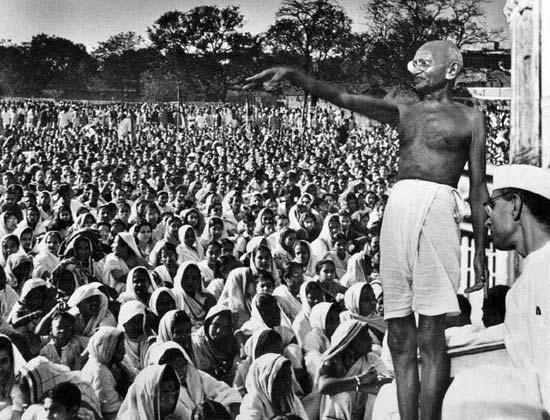 Mahatma Gandhi Speeches in India
