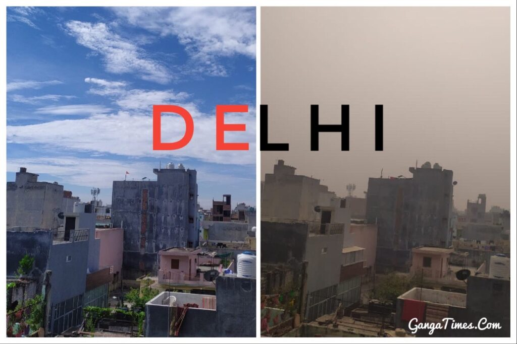 Who needs Instagram filter when we have Delhi Pollution? The Ganga Times Reports