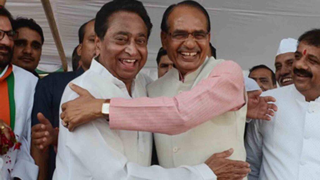 Madhya Pradesh Bypoll- Shivraj Singh Chouhan and Kamalnath