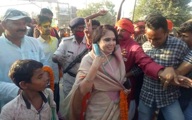 Narkatiaganj MLA Rashmi Verma
