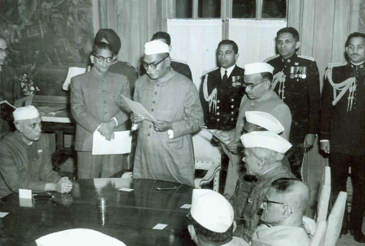 Member of Constituent Assembly from Bihar: Dr Rajendra Prasad, first President of India