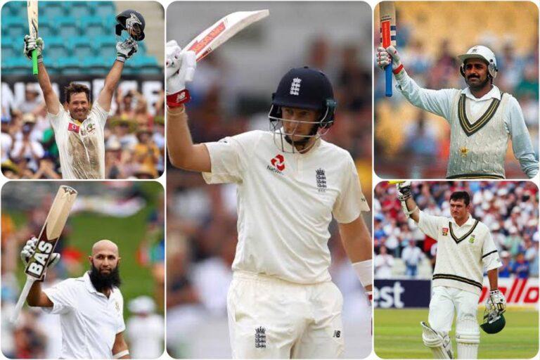 list of batsmen who has scored Century in 100th test match: Joe Root, Javed Miyandad, Inzamam Ul Haq, Hashim Amla, Ricky Ponting
