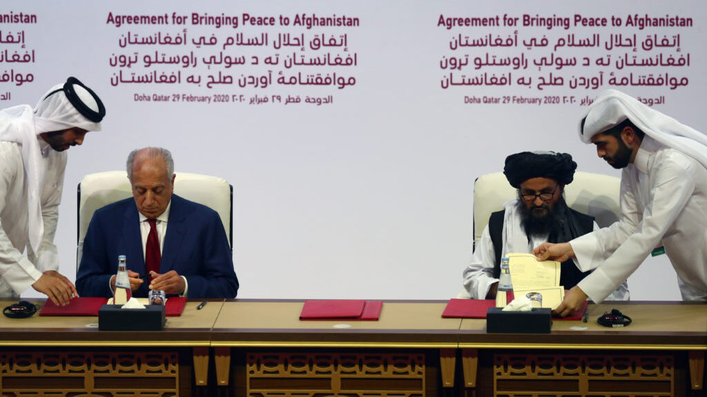 The USA Afghanistan Taliban deal in Doha