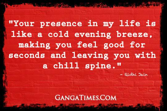 The Ganga Times: Ridhi Jain Love Quotes
