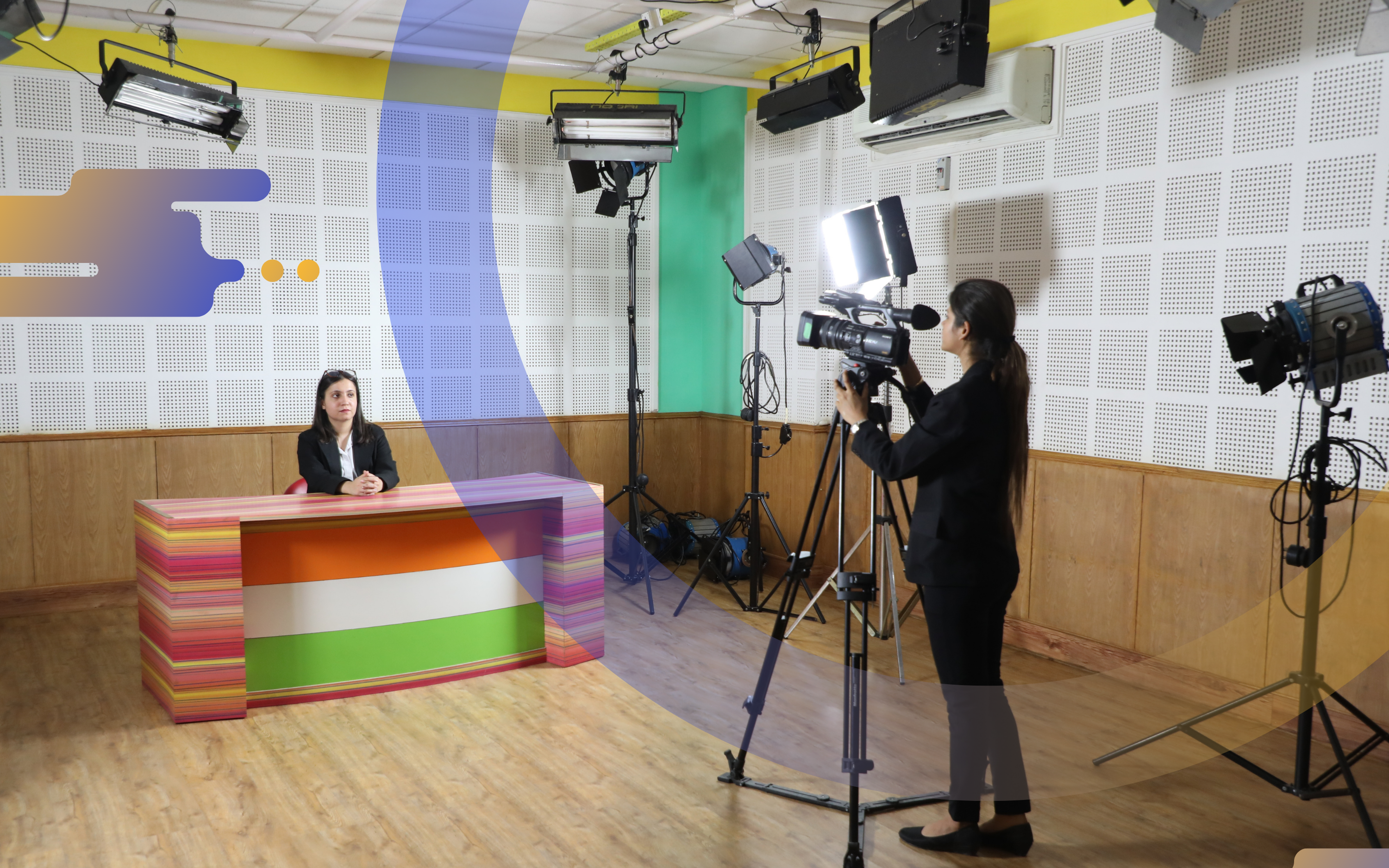 Affiliated to IPU, FIMT College is also known for its journalism courses.