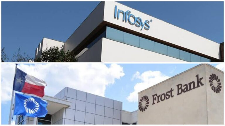 Infosys and Frost Bank signs a five-year deal.