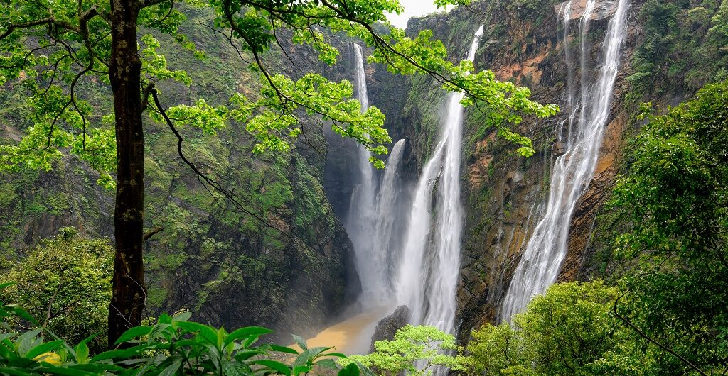 Jog Falls in Karnataka is a must visit for those who love calmness and serenity.