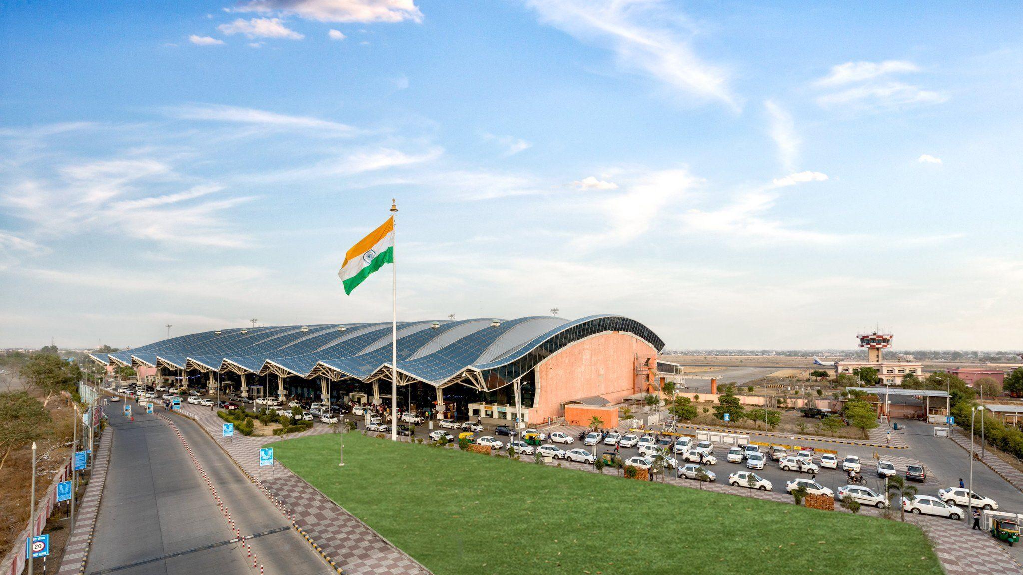 Devi Ahilya Bai Holkar Indore Airport is the busiest airport in Madhya Pradesh